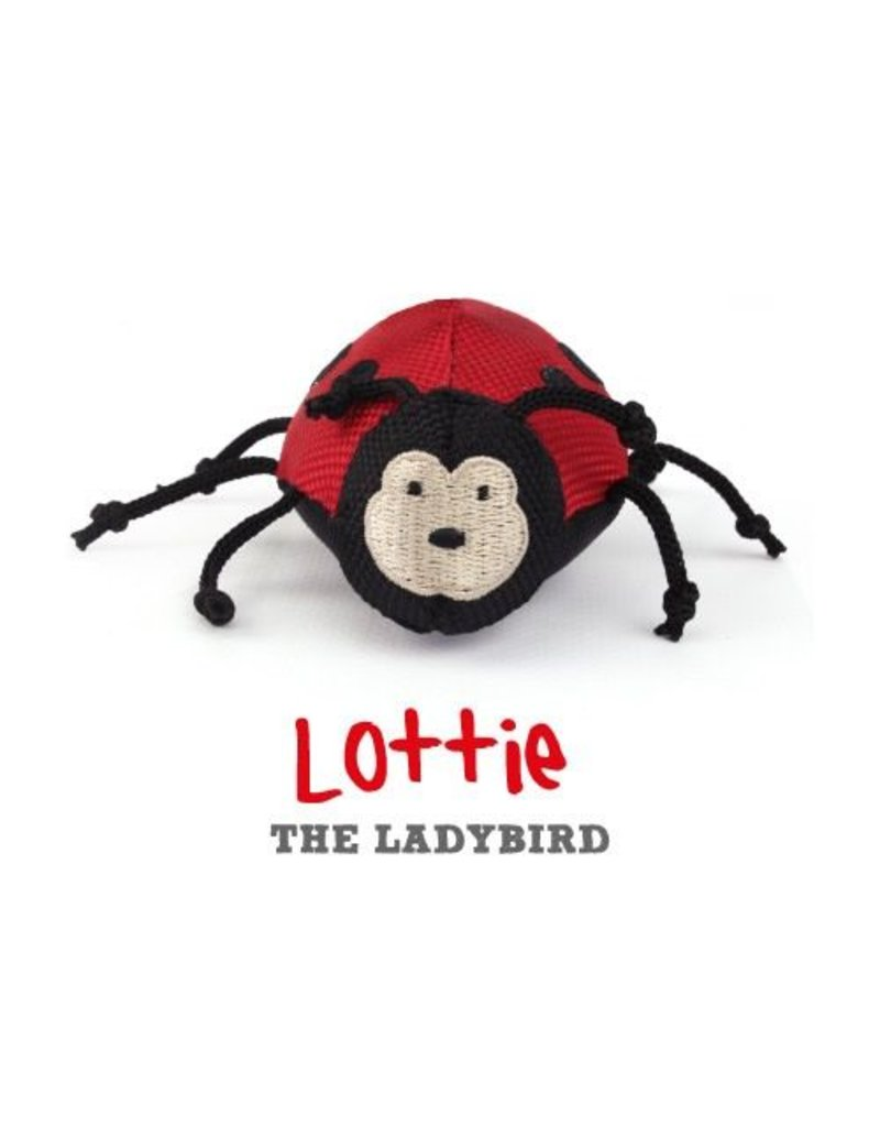 BECO PETS BECO  PLUSH  WAND TOY - LADYBIRD