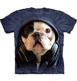 THE MOUNTAIN DJ MANNY DOG ADULT MANIMALS T SHIRT
