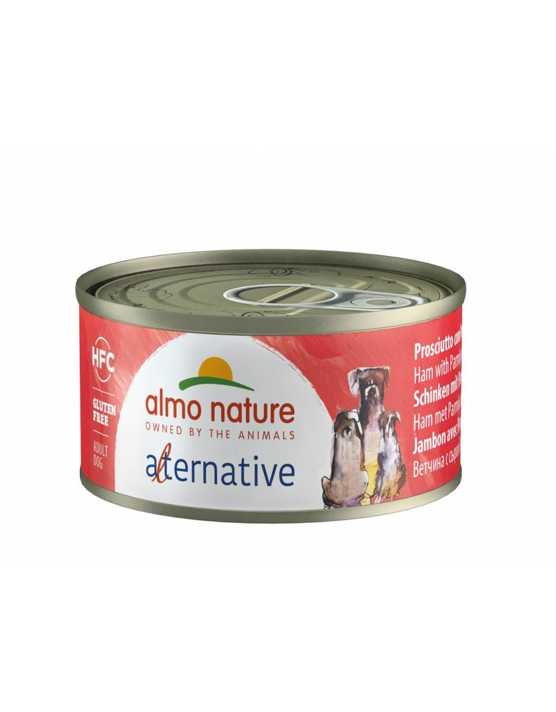 ALMO ALMO HFC ALTERNATIVE DOG - HAM AND PARMESAN 70G