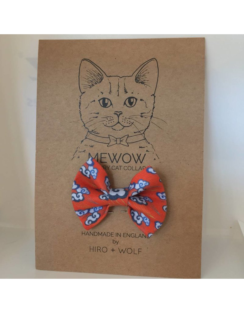 HIRO + WOLF BOW TIE CHINESE CLOUDS