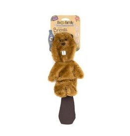 BECO PETS Beco Stuffing Free Toy - Brenda de Beaver