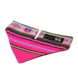HIRO + WOLF Bandana Inca Pink