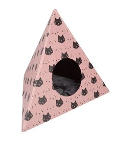 Triangle Cats Pink