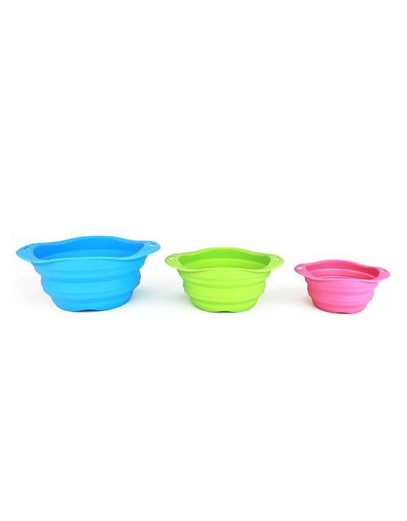 BECO PETS BECO TRAVEL BOWL PINK