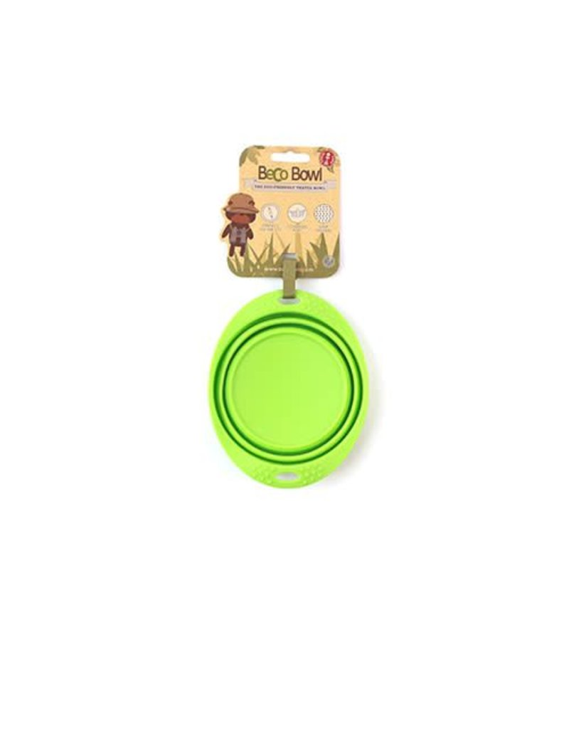 BECO PETS BECO TRAVEL BOWL GREEN
