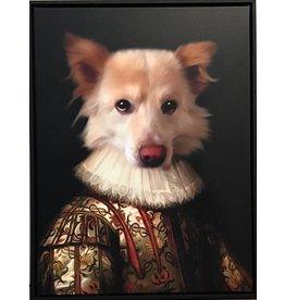 Portrait 80x60 Bourgeois Dog Museum Quality