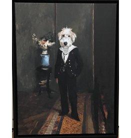 Portrait 60x45 Dog Sailor