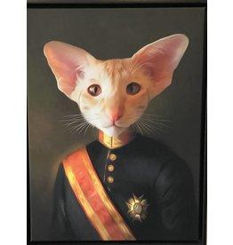 Portrait 60x45 Colonel Cat
