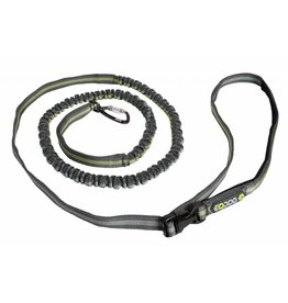 EQDOG Jogging Leash D.Grey/Green