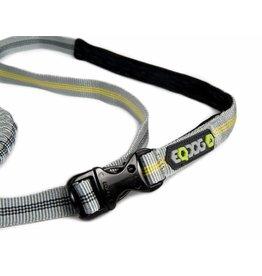 EQDOG Jogging Leash D.Grey/Yellow