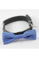 WOOL & WHISKERS BOW WOW TIE SKY BLUE MIX
