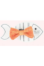 WOOL & WHISKERS BOW WOW TIE orange mix