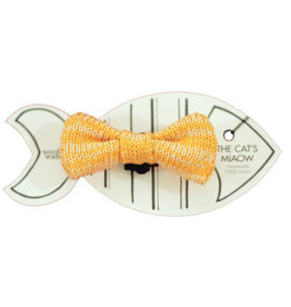 WOOL & WHISKERS Bow Wow Tie Yellow Mix