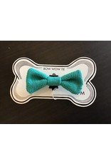 WOOL & WHISKERS BOW WOW TIE spring green