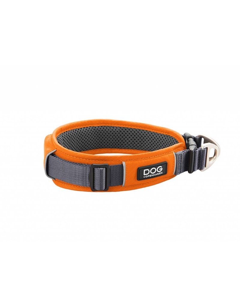 DOG COPENHAGEN URBAN EXPLORER™ COLLAR ORANGE SUN