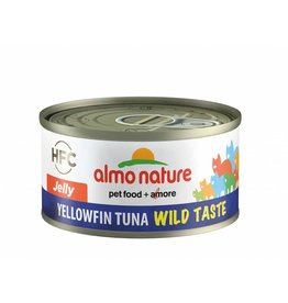 ALMO Hfc 70 Cat Wild Taste Jelly Yellow Fin Tuna