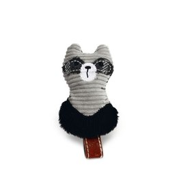 DESIGNED BY LOTTE Textile Cat Toy Rami Gray 8.5