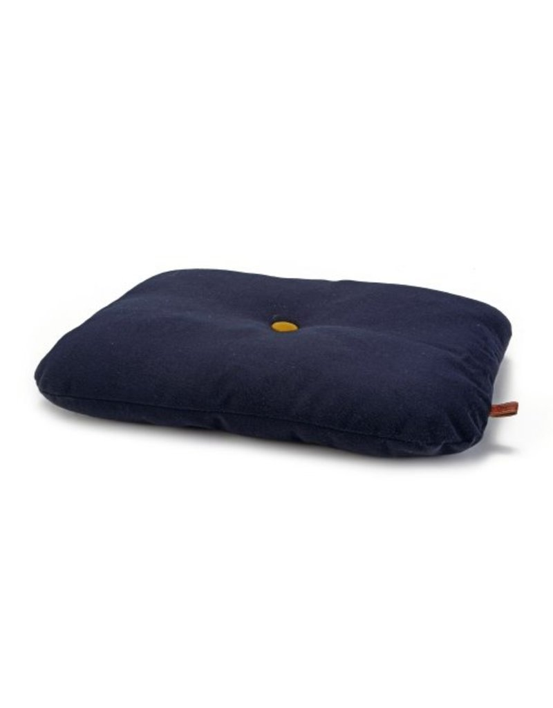 DESIGNED BY LOTTE BENCH UPHOLSTERY MIKRAS CAT DARK BLUE 60X45