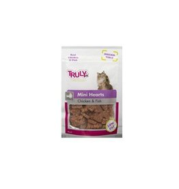 Truly Mini Hearts Chicken & Fish 50Gr.