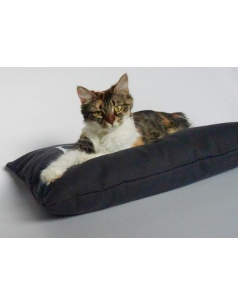 THE MAD CATTER CAT PILLOW RECTANGULAR