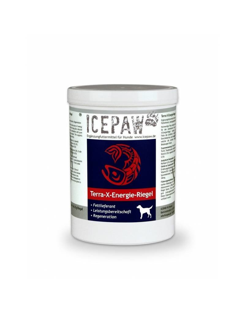 ICEPAW TERRA-X-ENERGIE-RIEGEL 16X25G