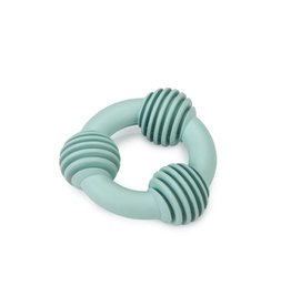 Rubber Dental Ring Puppy Grn 8