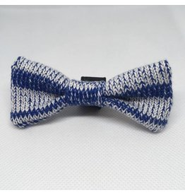 WOOL & WHISKERS Bow Wow Tie Denim Mix