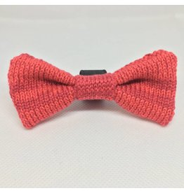 WOOL & WHISKERS Bow Wow Tie Tulip Red