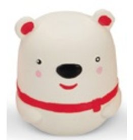 Latex Dog Toy Christmas Polar Bear