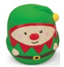 Latex Dog Toy Santa'S Helper