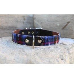 MESTIZO Dog Collar Heritage Blue + Black
