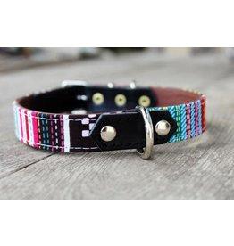 MESTIZO Dog Collar Arty Mix + Black