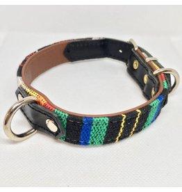 MESTIZO Dog Collar Siesta Black + Black