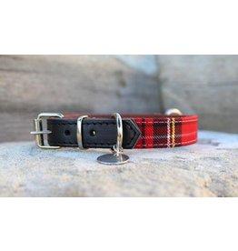 MESTIZO Dog Collar Heritage Red + Black