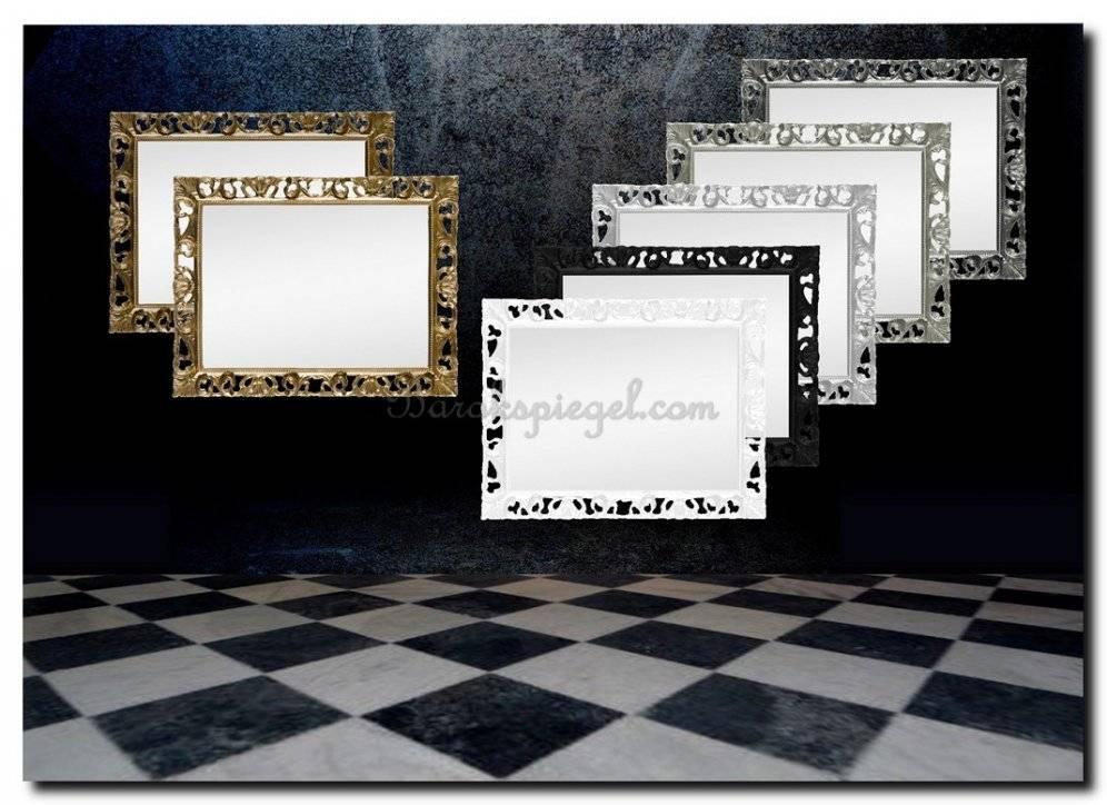 Sierlijke barok spiegel Farfalla
