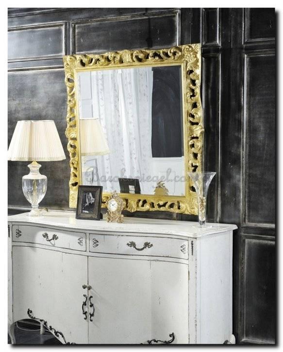 Exclusieve barok spiegel Lauretta