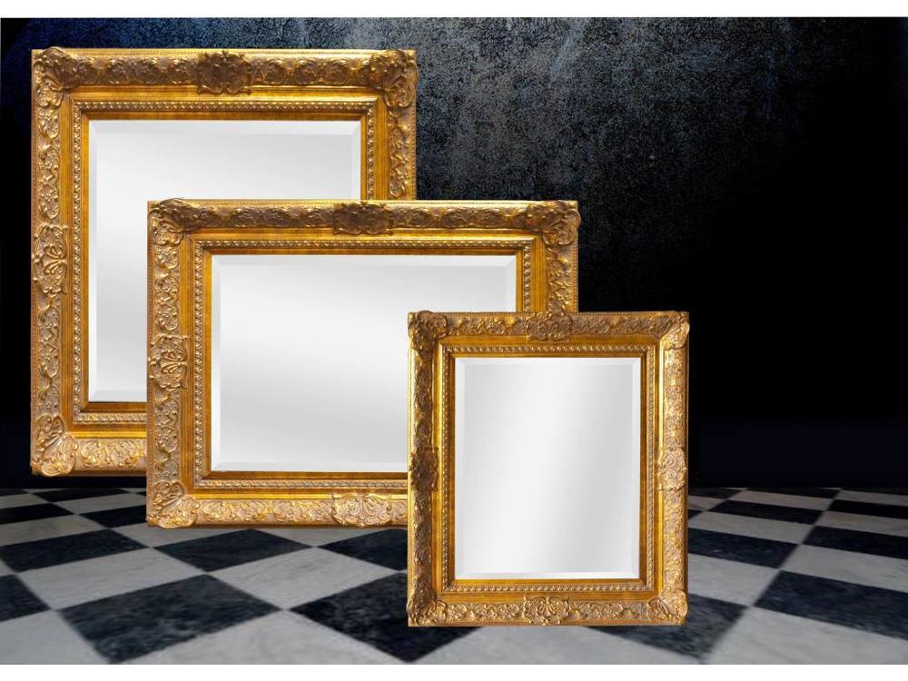 Gouden Barok Spiegel : Barok spiegel met gouden lijst liam barokspiegel.nl