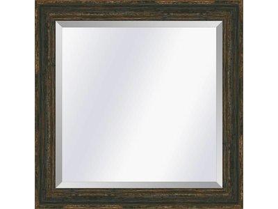 Barokspiegel.nl Mirror Brittany Black small 39mm