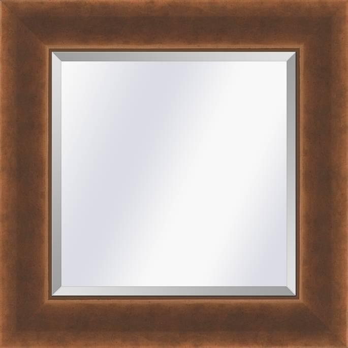 Industrieële spiegel Foundry Brons medium 65mm