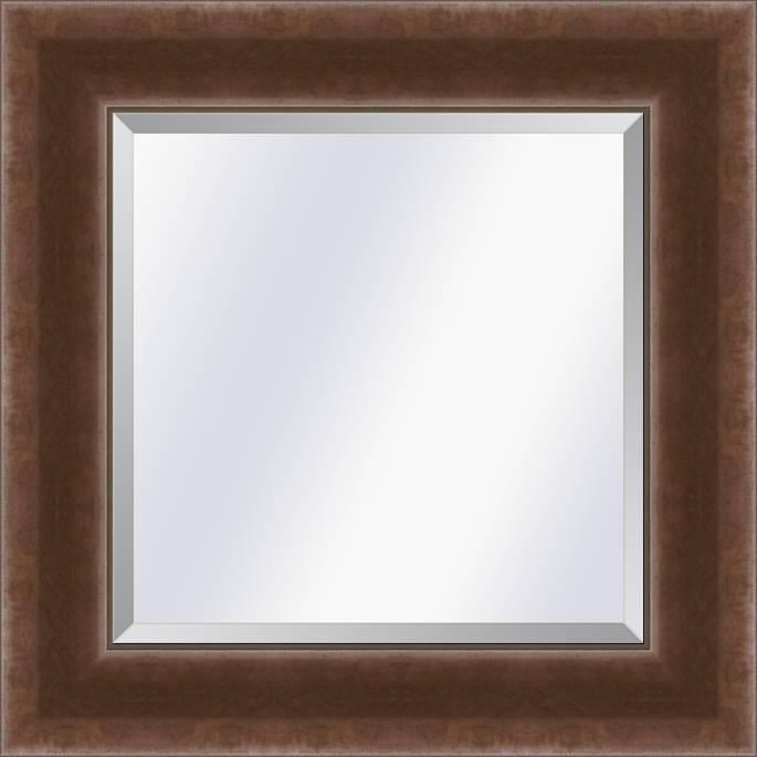 Industrieële spiegel Foundry Roest medium 65mm