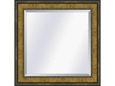 Barokspiegel.nl Spiegel Canaletto Goud-brons small 45mm