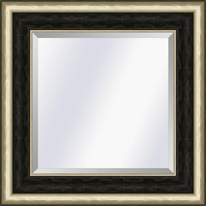 Spiegel Canaletto Ebbenhout-zilver medium 70mm