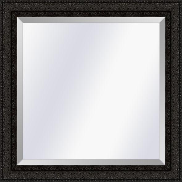 Klassieke spiegel Imperial Zwartbruin medium 62mm