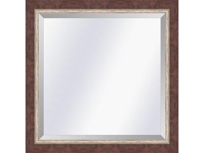 Barokspiegel.nl Mirror  Lucerne  Redbrown-silver  small 29mm