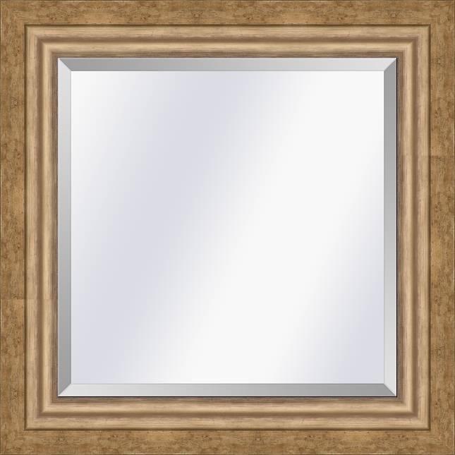 Moderne spiegel Lucerne Goud medium 52mm