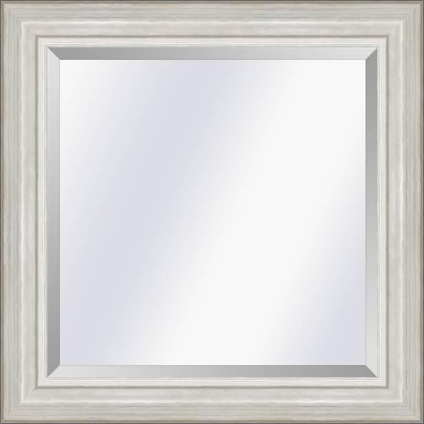 Modern klassieke Spiegel Lille Zilver small 41mm