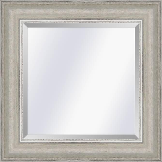 Moderne Klassieke spiegel Lille Zilver medium 59mm
