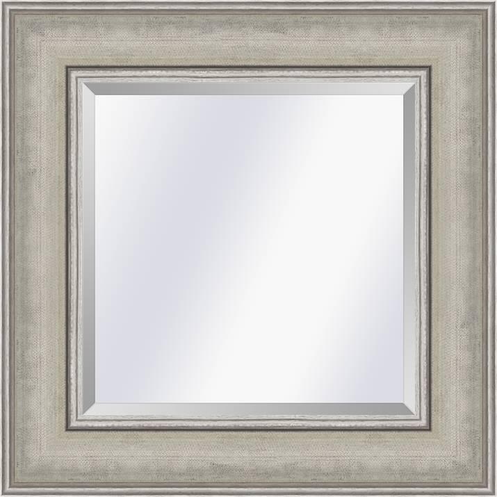Moderne Klassieke spiegel Lille Zilver large 73mm