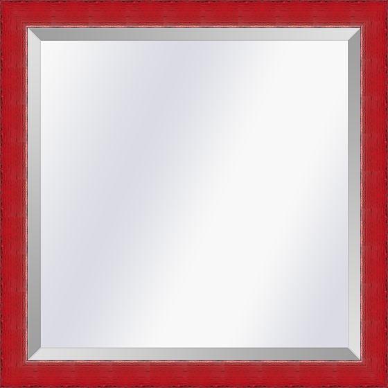Spiegel in Aziatische stijl Komodo Rood small 26mm