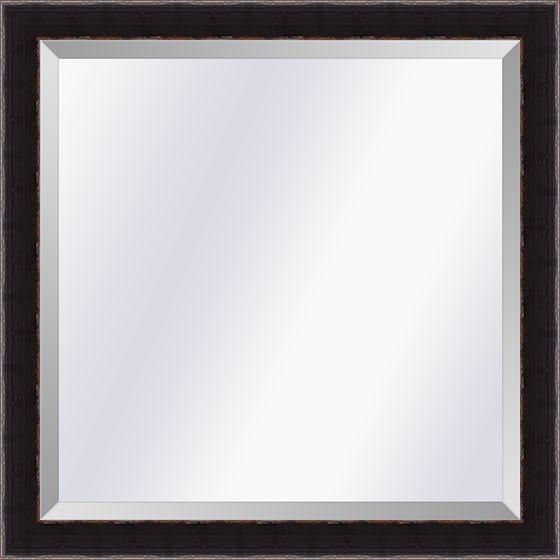 Spiegel in Aziatische stijl Komodo Zwart small 26mm